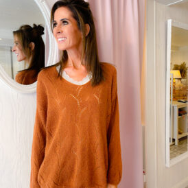 Sweater Lara camel