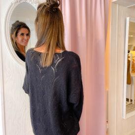 Sweater Lara black